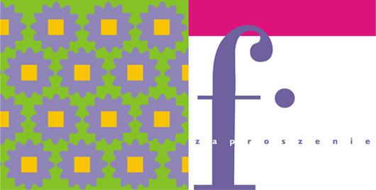 Projekt graficzny zaproszenia FTV