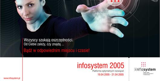 Projekt graficzny folderu Infosystem