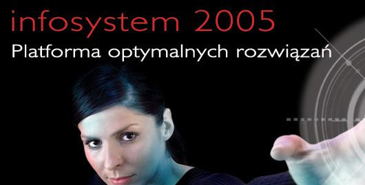 Projekt graficzny ulotki Infosystem